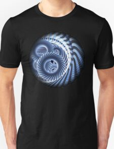 Magic Blue Whirl Unisex T-Shirt