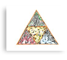 Tristract Canvas Print