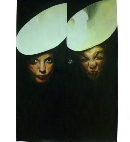 Self Portraits Sticker