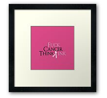 Breast Cancer Awearness Framed Print