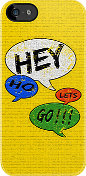 Hey Ho Lets Go ! ! !  by Ian Jackson