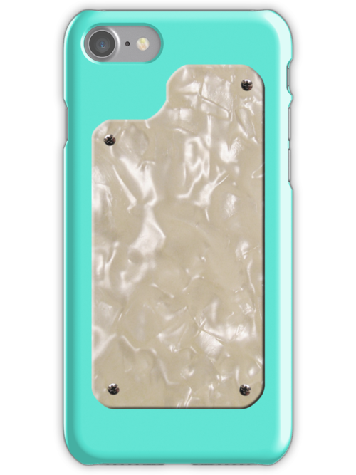 Vintage Seafoam Green with Pearloid by ubiquitoid