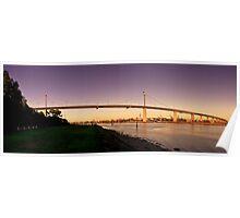 Westgate Bridge Panorama Poster