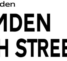 Camden High St., London Street Sign Sticker