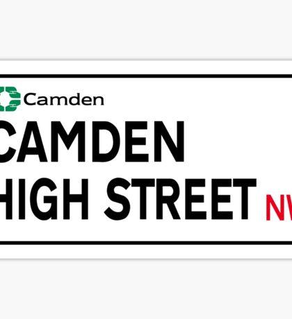 Camden High St., London Street Sign Sticker