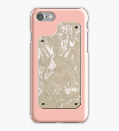 Vintage Shell Pink with Pearloid iPhone Case/Skin