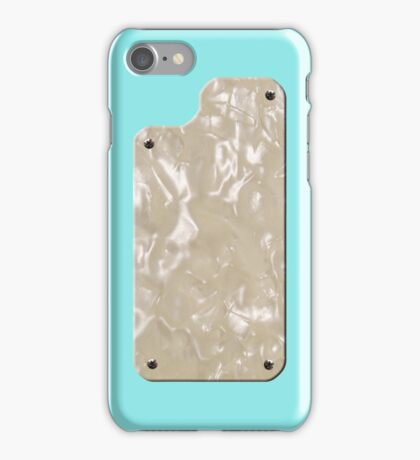 Vintage Daphne Blue with Pearloid iPhone Case/Skin