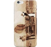 Old West Cowboy Cat and Saloon Kitty iPhone Case/Skin