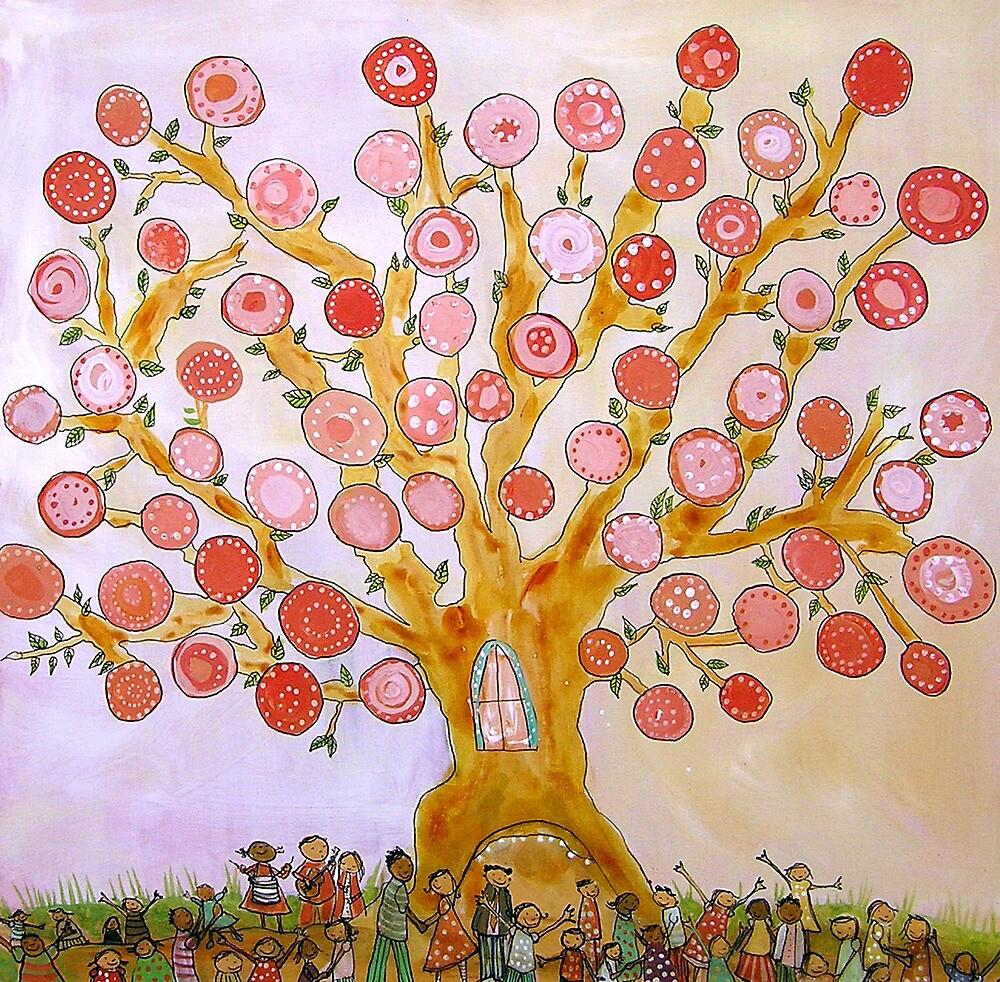 Cherry Tree Party by Johanna Wright