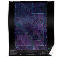 USGS Topo Map Washington State WA Mission Peak 242349 2003 24000 Inverted Poster