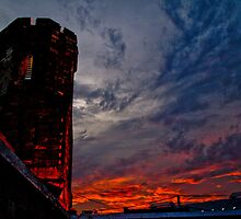Prison Sunset by DeWolf