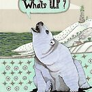 What's Up Bear by Yuliya Art