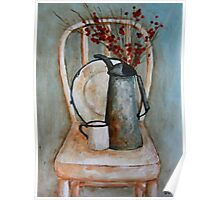 Still Life on chair Poster