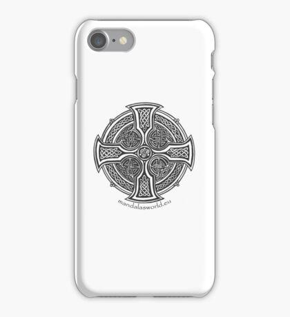Celtic Cross n2 Dark iPhone Case/Skin