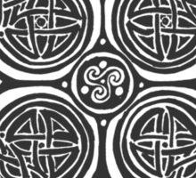 Celtic Cross n2 Dark Sticker
