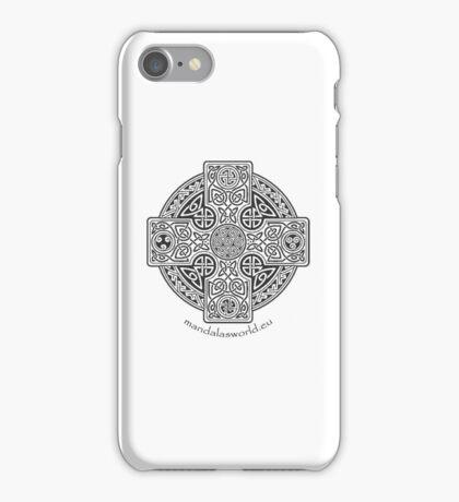 Celtic Cross n1 Dark iPhone Case/Skin