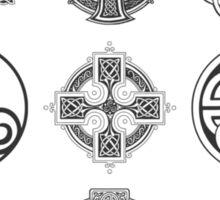 Celtic Collection Black Sticker