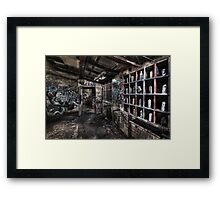 The Paint Room Framed Print