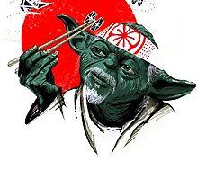 Yoda (The Karate Kid) by gunslinger87