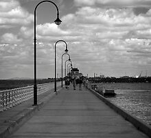 Pier Promenade by Vince Russell