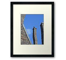 Chimney Sweep Framed Print
