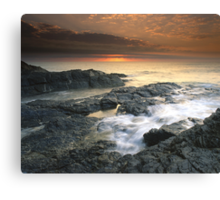 """Surge"" ∞ Currumbin, QLD - Australia Canvas Print"