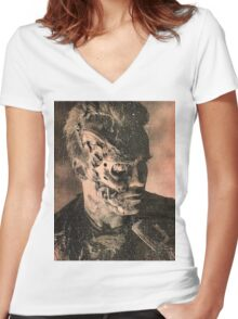 It's In Your Nature to Destroy Yourselves Women's Fitted V-Neck T-Shirt