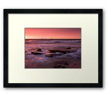 Burns Beach Seascape Framed Print