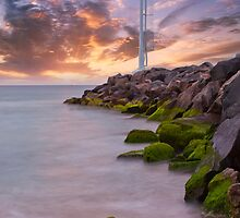 City Beach Surf Life Saving Tower by JR Photo