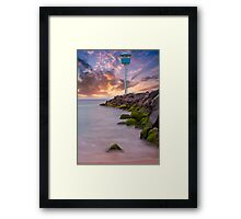 City Beach Surf Life Saving Tower Framed Print