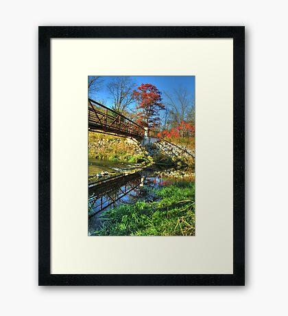 White Water State Park Framed Print