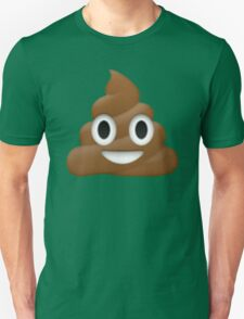 pile of poo emoji Unisex T-Shirt