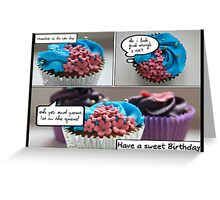 CakeShop Birthday Card Greeting Card