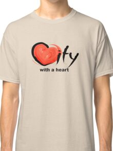 City With a Heart Classic T-Shirt