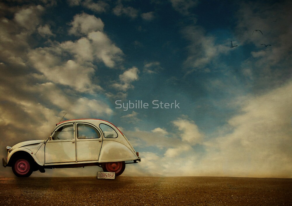 Day at the Beach by Sybille Sterk