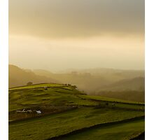 View over the Dale Photographic Print