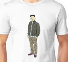 Kim Jong Un Hipster Unisex T-Shirt