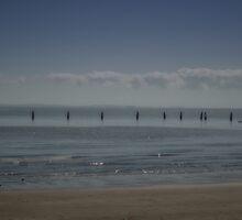 Shornecliffe Beach, Queensland by David Mellor