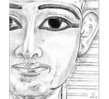 Psusennes I: Detail by Aakheperure