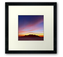 Island Nightlife Framed Print