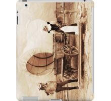 Old West Cowboy Cat and Saloon Kitty iPad Case/Skin