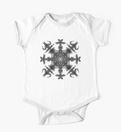 Aztec Snowflake. One Piece - Short Sleeve