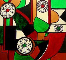 Geometric Fun! by Angela Gannicott