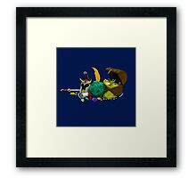 Dungeons & Dragons Loot Framed Print