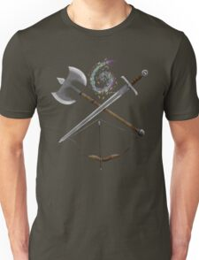 Dungeons & Dragons Weapons Unisex T-Shirt