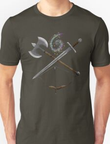 Dungeons & Dragons Weapons T-Shirt