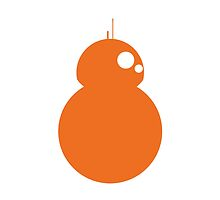 Simplistic BB-8 by NathanHall93