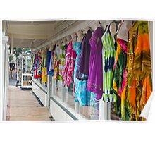 Colorful Summer Dresses Poster