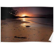 Sunrise at Mickeys Beach Poster