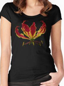 Fire lily Women's Fitted Scoop T-Shirt